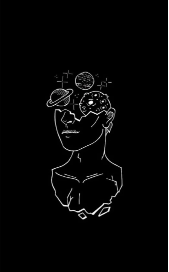 Open Mind Black And White Wallpaper Iphone Minimalist Wallpaper Phone Watercolor Wallpaper Iphone