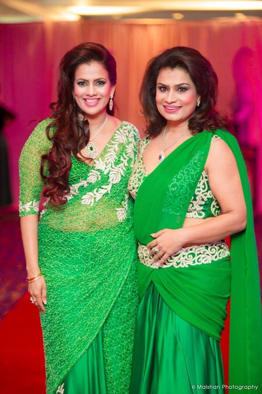 dbb6b3cf1b Sri Lankan Fashion - Sangeetha   Shereen Saree Dress
