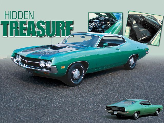 71 Cobra Torino Grabber Green Metallic Ford Torino Muscle Cars Old Sports Cars
