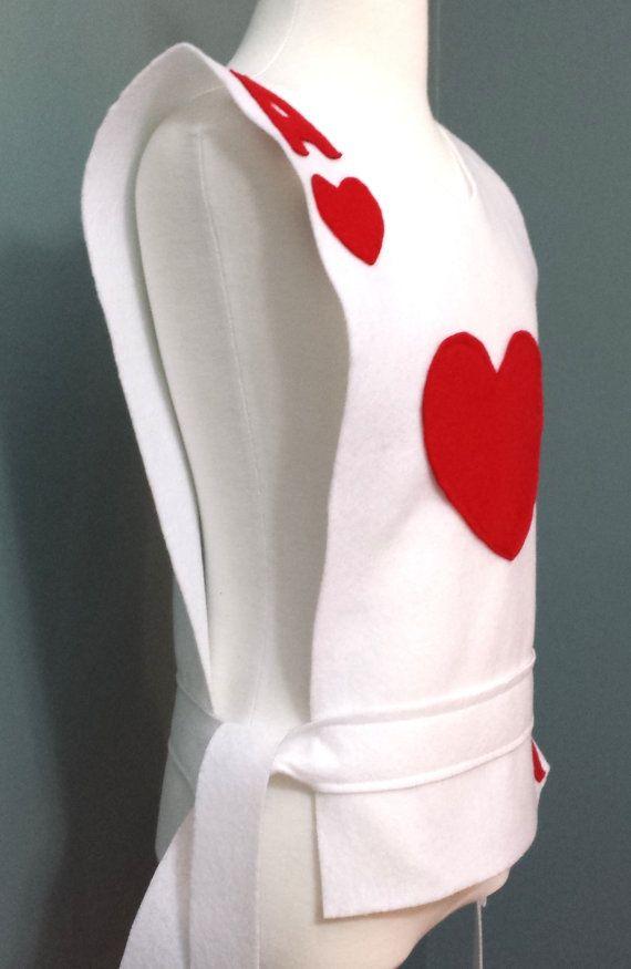 venduto in tutto il mondo ottenere a buon mercato vendite all'ingrosso Hearts Playing Card Costume Tunic (Alice in Wonderland ...