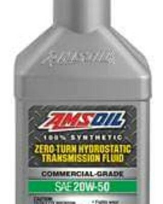 Amsoil Synthetic Hydrostatic Oil For Zero Turn Lawn Mowers