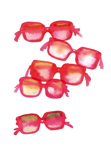 Sunglasses - By Miss Capricho -  via Flickr