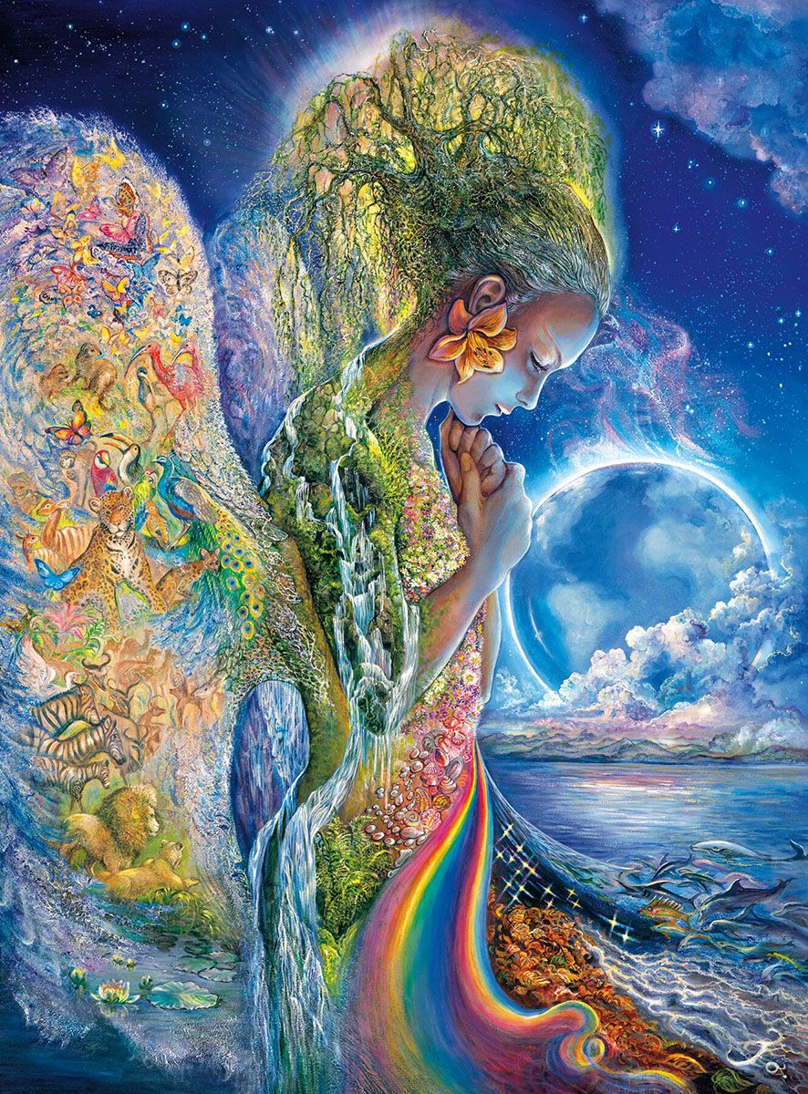 The Sadness of Gaia Josephine wall Mother goddess