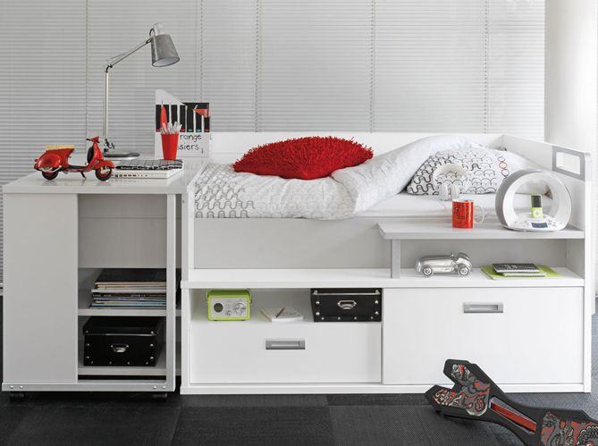 Les plus beaux lits mezzanines pour prendre de la hauteur et gagner