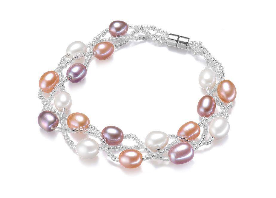 Colorful Pearl Bracelet. | timelesspearl.com