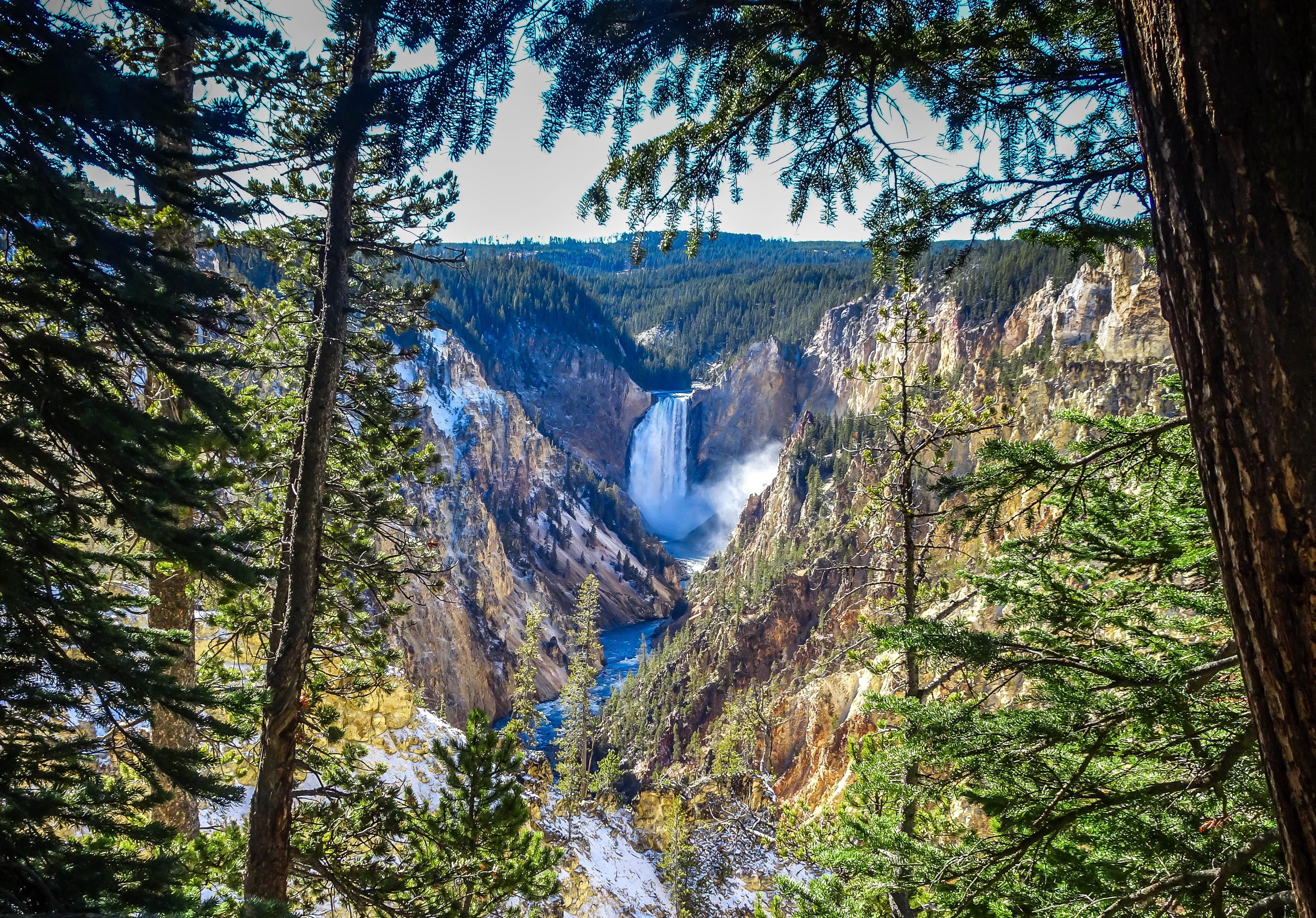 Artist's Point Yellowstone National Park [OC] [4327 x 3020