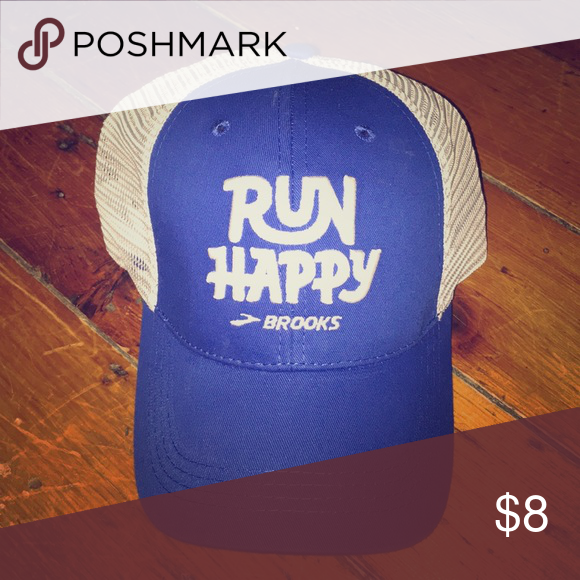 "Brooks ""Run Happy"" Trucker Hat! 👟👟👟 Trucker hat b6914843f66"