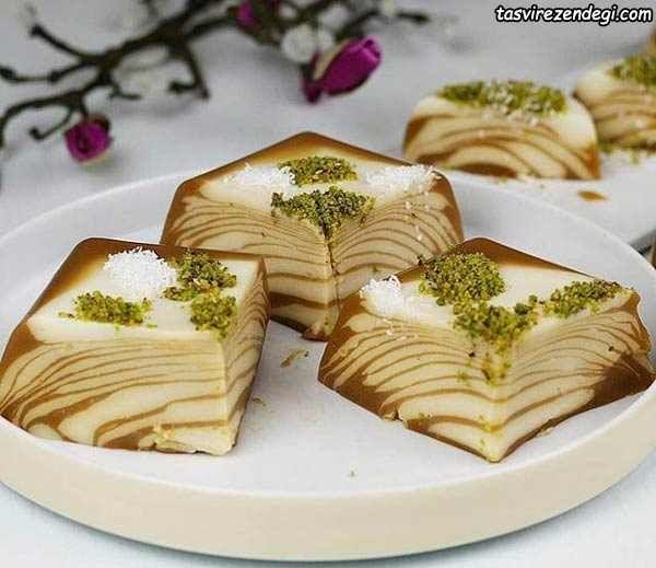 دسر ترکیه ای تاتلی هزار و یک شب خوشمزه و مجلسی مجله تصویر زندگی Food Carving Vegan Foods Iranian Desserts
