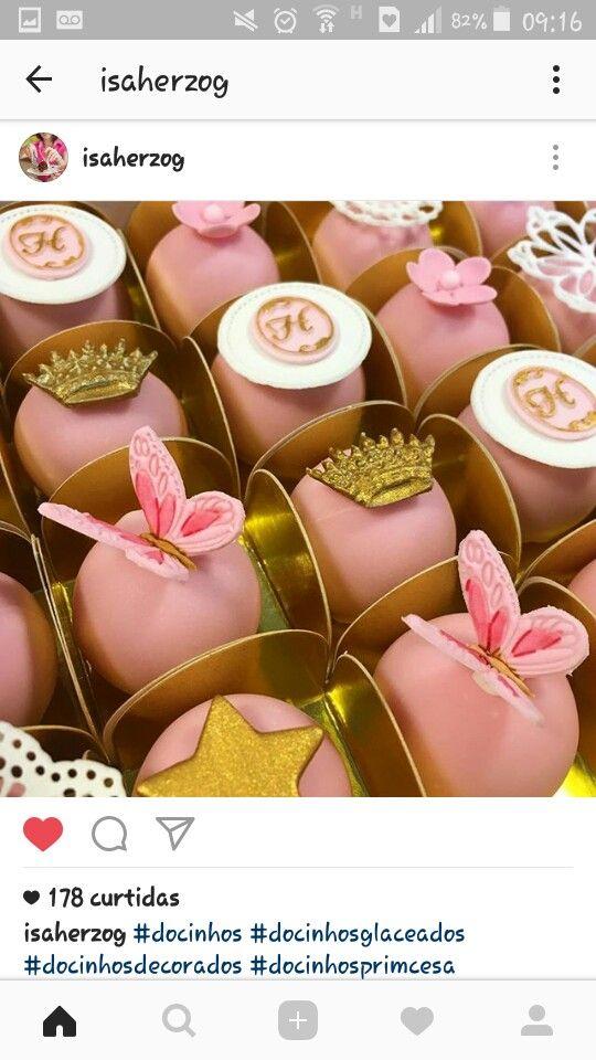 Pin de Satarre Necole em cake pops   Doces finos. Doces modelados e Bombons de chocolate