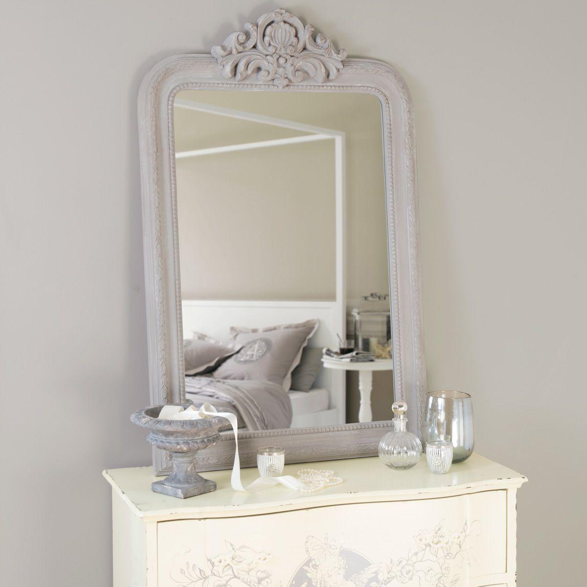 Miroir Altesse Gris Miroirs Miroir Miroir Salon Et