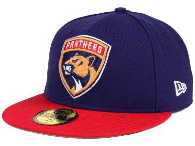 2e481ba4227 Florida Panthers New Era NHL Basic 59FIFTY Cap