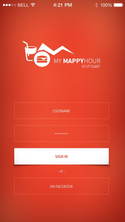 32 modern app sign in login screen ui designs 9 app for Modern screen design