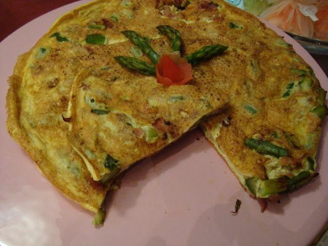 La buona cucina di Katty: Frittata con gli asparagi