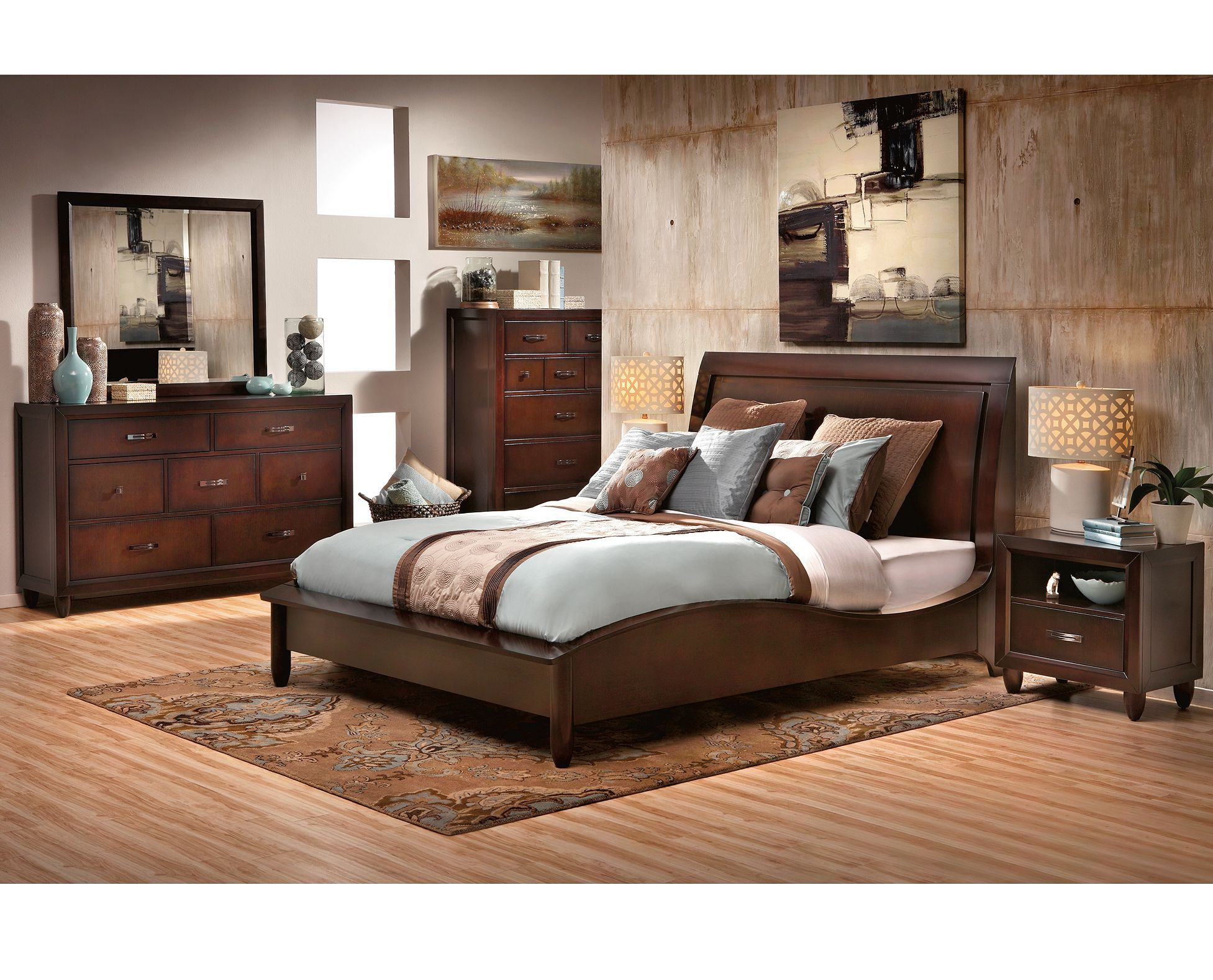 Beds-Malibu Sleigh Bed-Elevate the style of your room  Beautiful