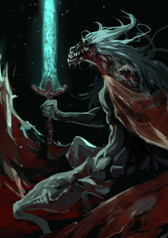 Oh Ludwig How I Love Your Fight Honestly Being Built Up As One Of The Greatest Hunters In History Then Coming Acro Bloodborne Art Dark Souls Art Bloodborne