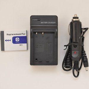 Battpit Battpit New Digital Camera Battery 750 mAh Charger Replacement for Sony CyberShot DSC-T200//R