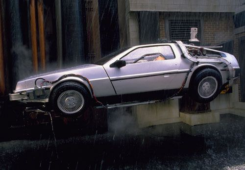 Back To The FutureTM DeLorean Time Machine