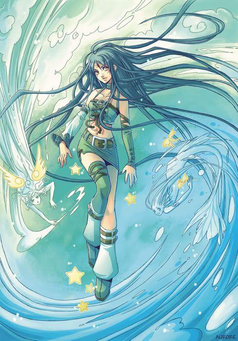 Elemental Girl Photo By Arora Fire Photobucket Anime Character Design Anime Art Girl