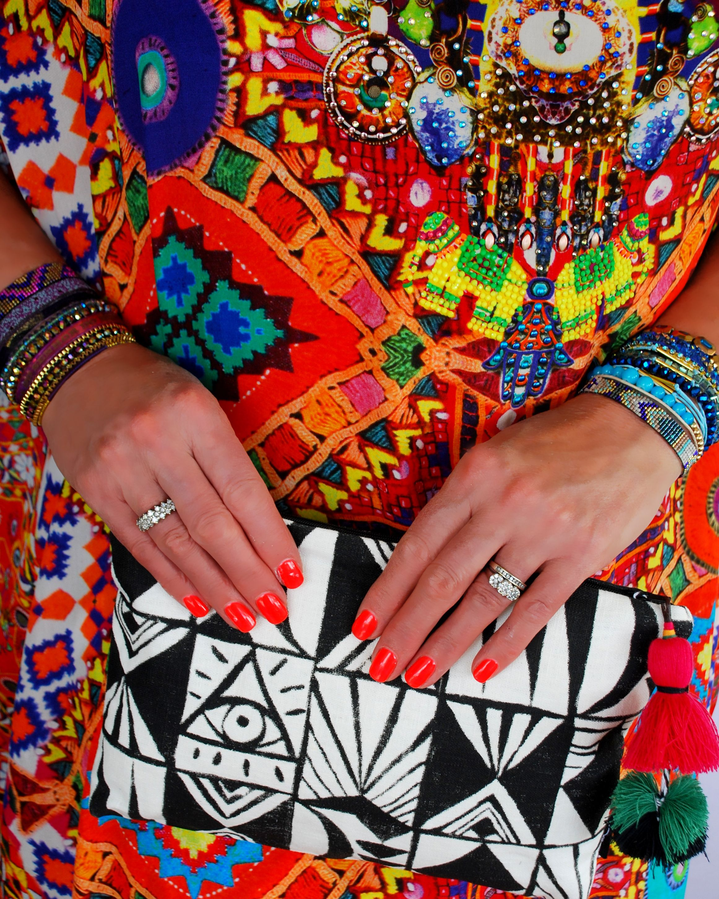 Ses + Jen - The Store, Ourlieu Clutch and Hipanema bracelets available online now