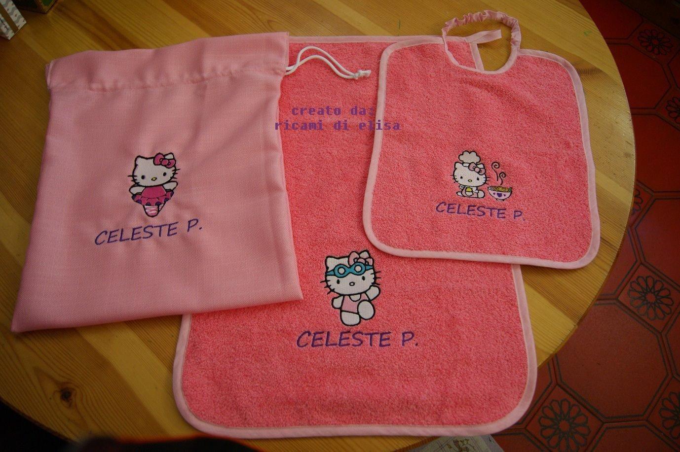 Hello Kitty embroidery design