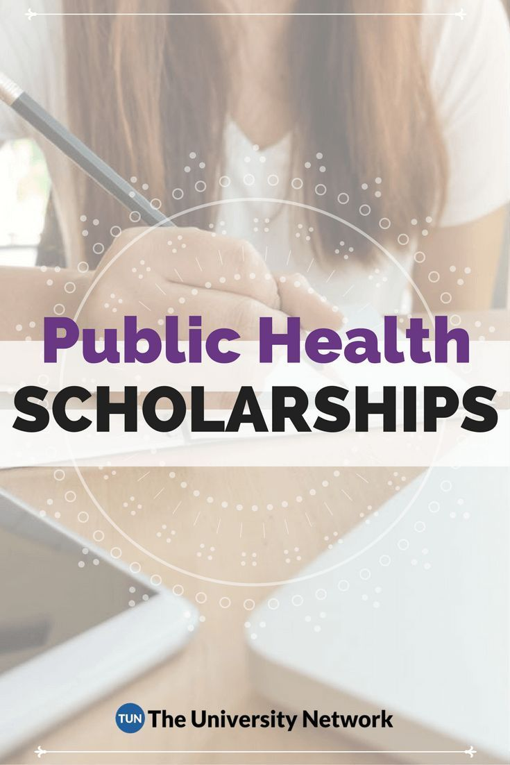 Here is a selection of Public Health Scholarships that are listed on TUN
