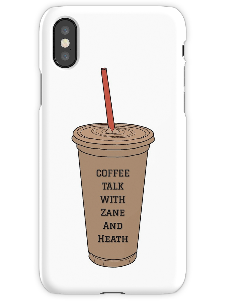 Coffee Talk with Zane and Heath iPhone Case & Cover
