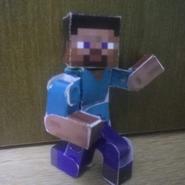 Papercraft Ultimate Bendable Steve Version 2 Boys