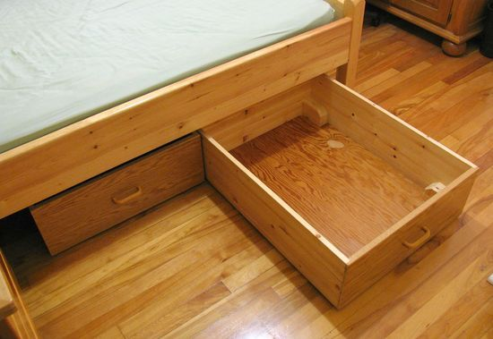 Under The Bed Storage On Wheels Gorgeous Underbed Storage Drawers  Diy  Pinterest  Underbed Storage Decorating Design