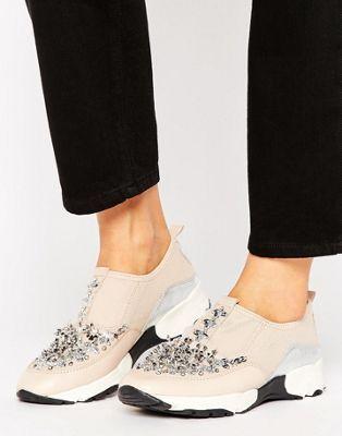 2dcfaed7e3b Carvela Lola Embellished Sneakers