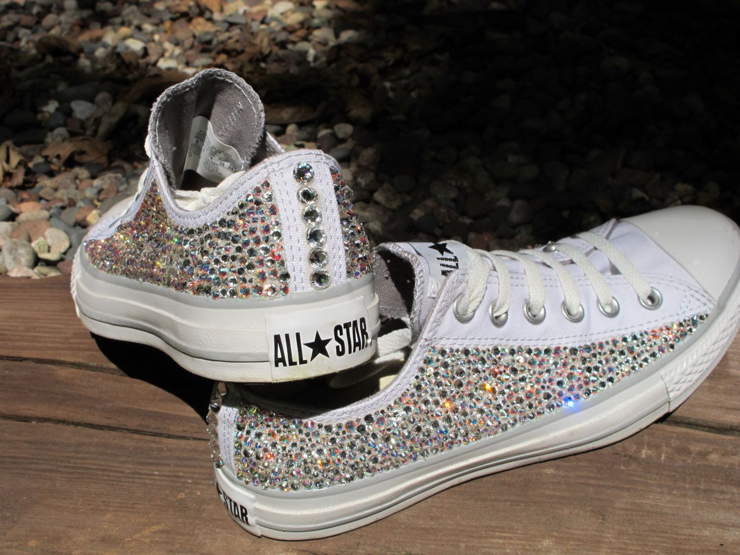 Rhinestone Converse AllStars NOT INCLUDING by TheSparklingEffect ... 3ed5cfeed0f9