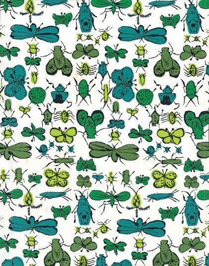 Andy Warhol 'Happy Bug Day',1955