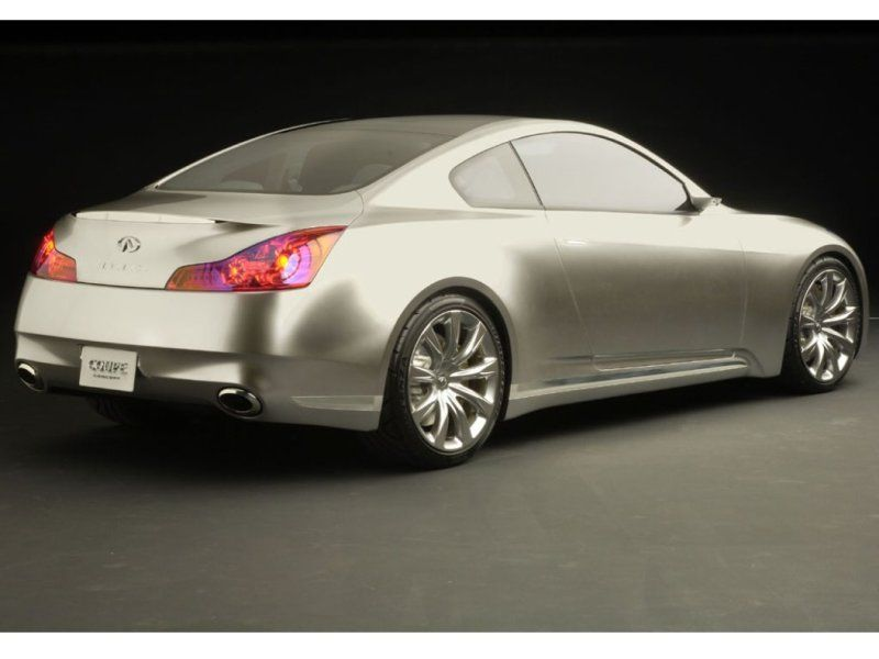 2007 Infiniti G35 Coupe - Rear Side