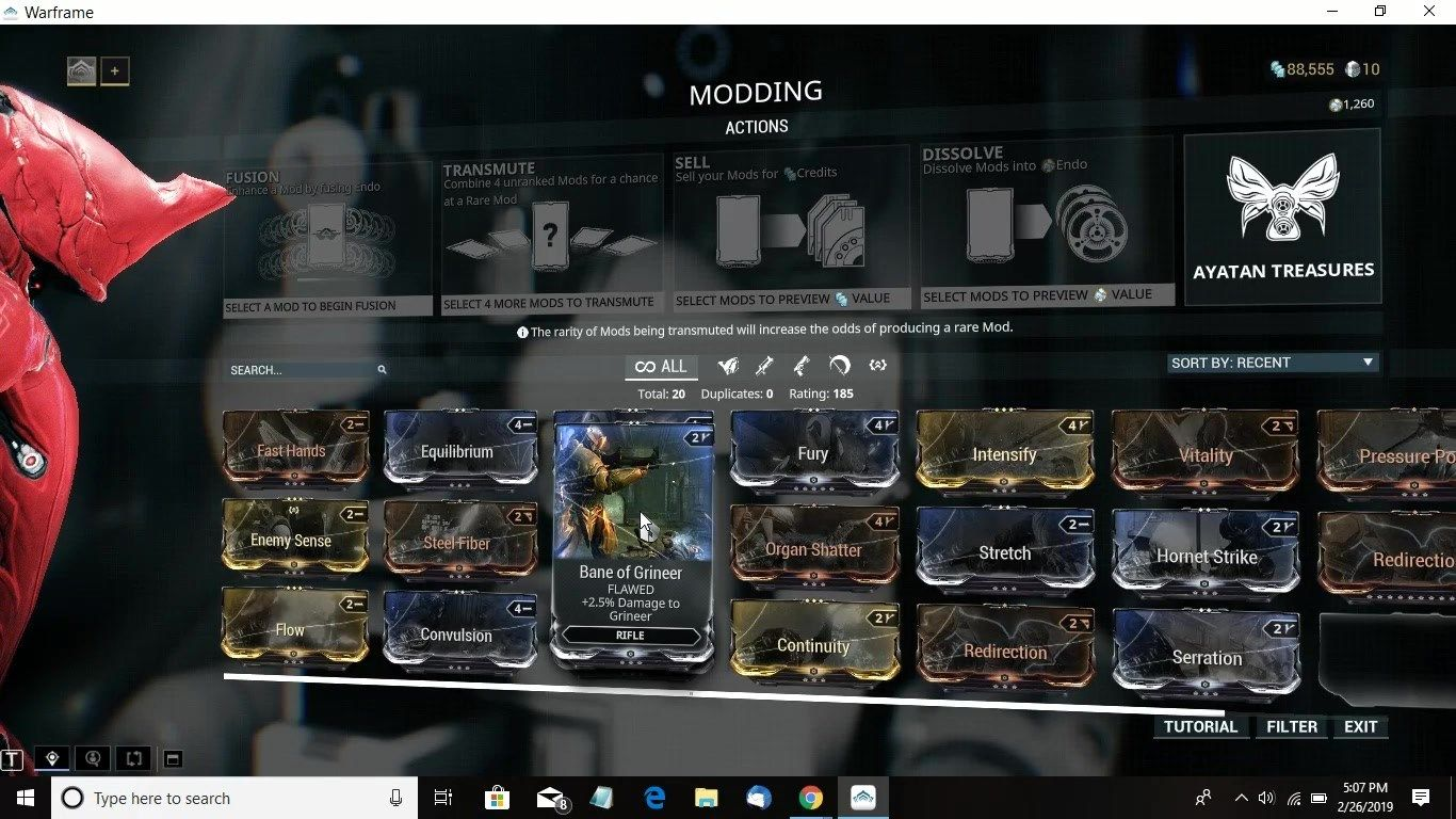 WARFRAME mission For Mods Part1 Discovered we still need 20