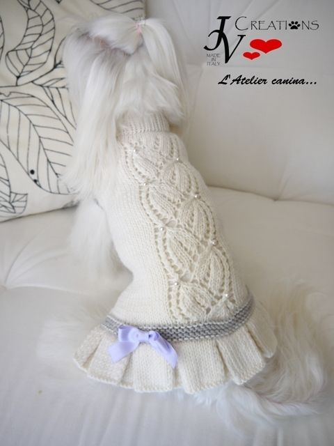 Abitino Bucaneve | 강아지옷 | Pinterest | Abrigos para perros, Ropa ...