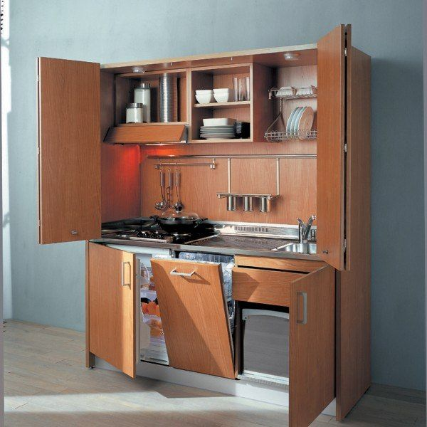 Ith580 Italian Hideaway Kitchen With Dishwasher In 2019 Tiny House