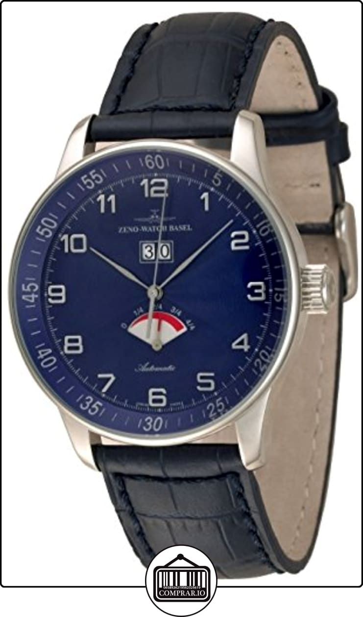 71e7a44ffe04 Zeno-Watch Reloj Mujer - X-Large Retro Big Date Power Reserve - P590-g4 ✿ Relojes  para hombre - (Lujo) ✿