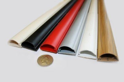 office cable covers. £7.99 dline 75cm 30x15 magnolia cable covers conduit: amazon.co.uk: office