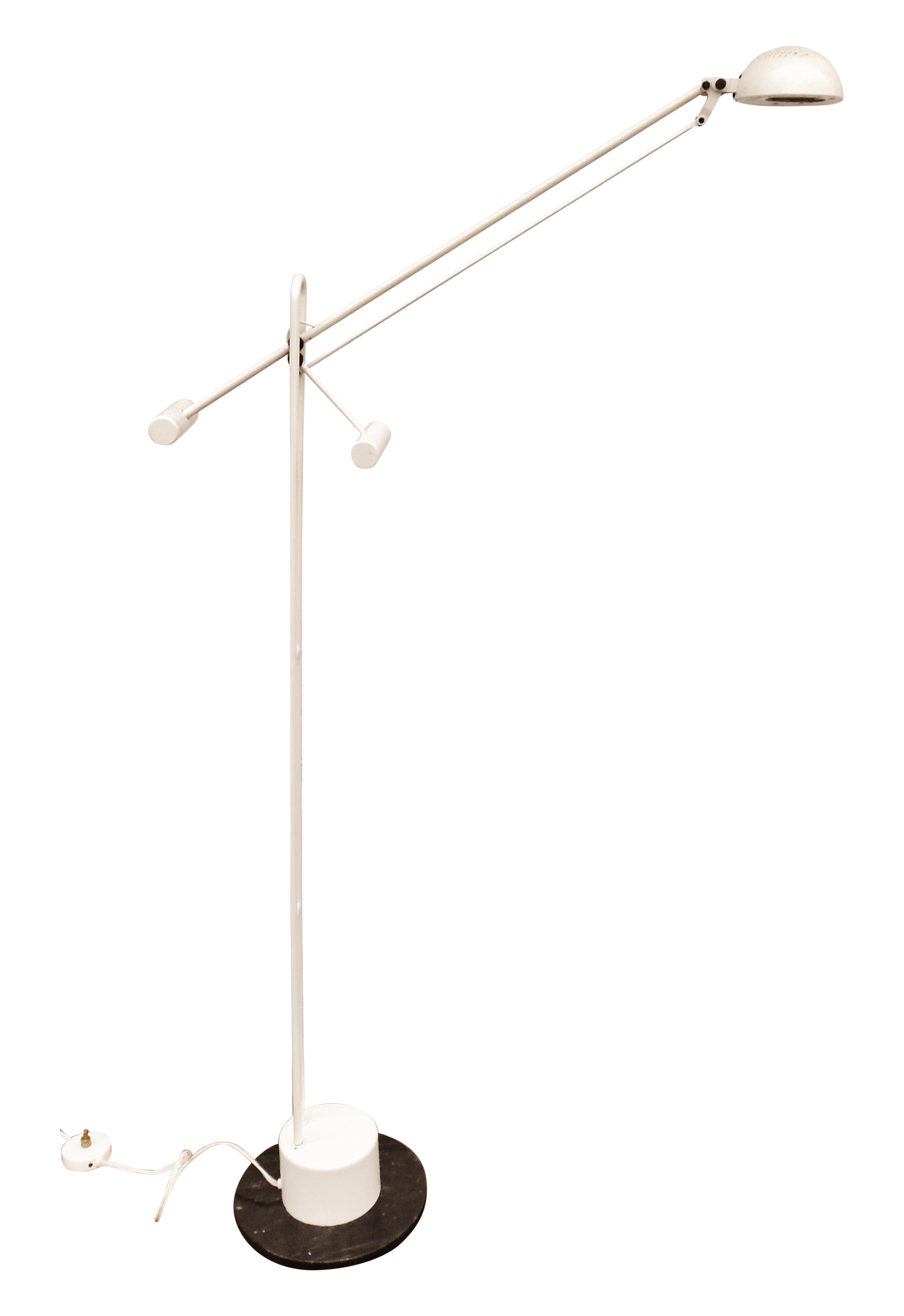Mid Century Halogen Counterbalance Floor Lamp Lamp Floor Lamp Vintage Lighting