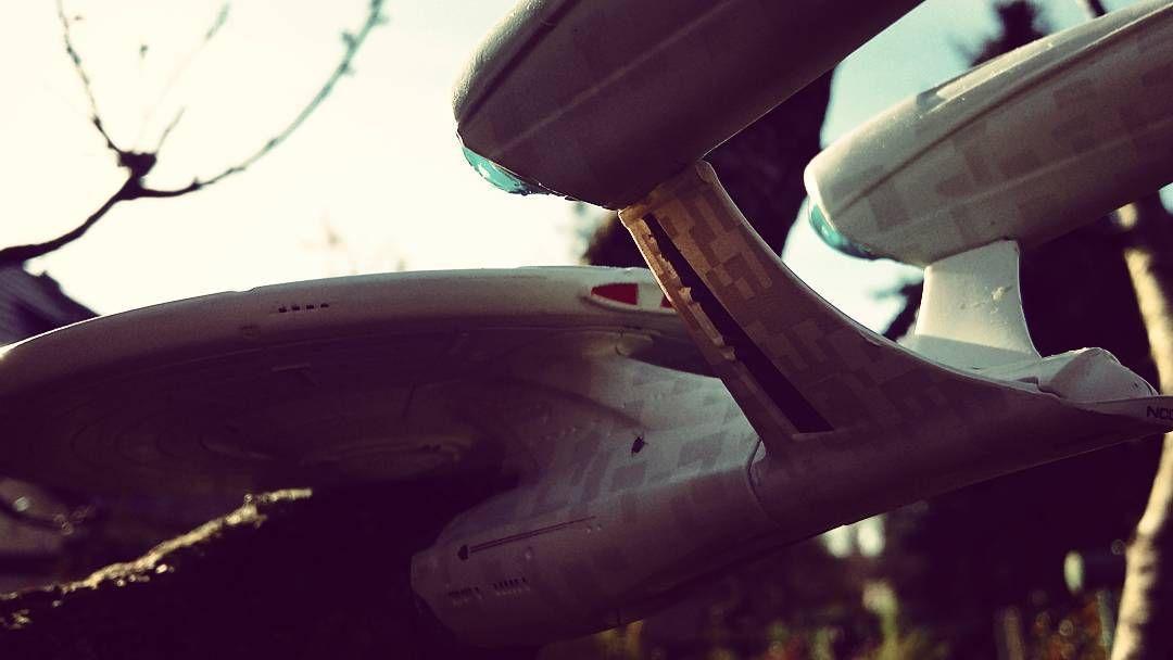 New photo online J.J. Enterprise explores #autumn - #startrek #eaglemoss Hope you like it