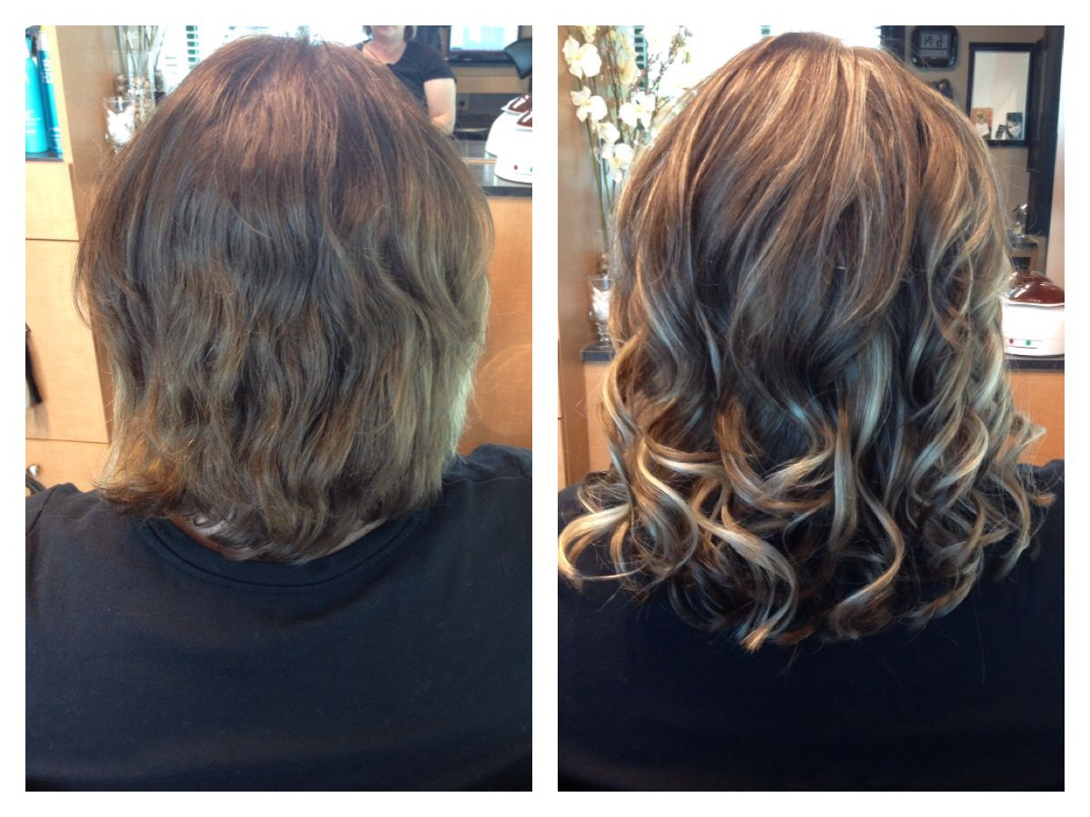 Klix Hair Extensions Before And After Bymelissa Lobaito Owner Of