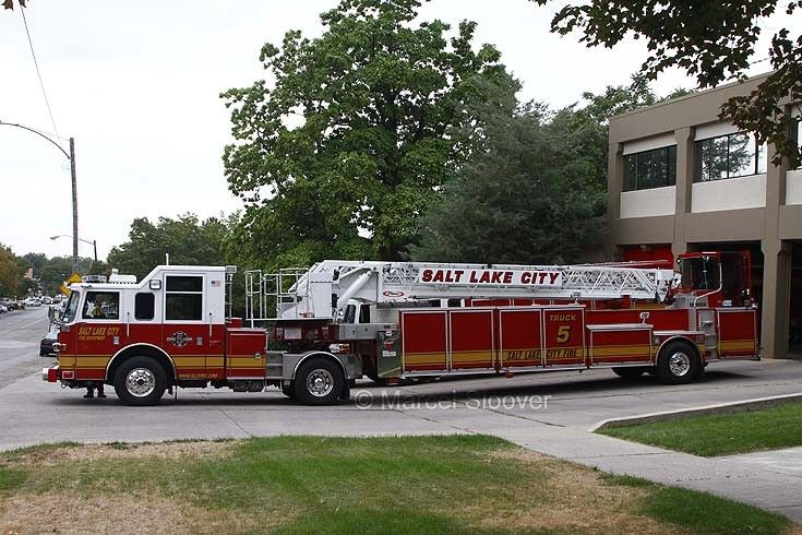 Salt Lake City Fire Trucks