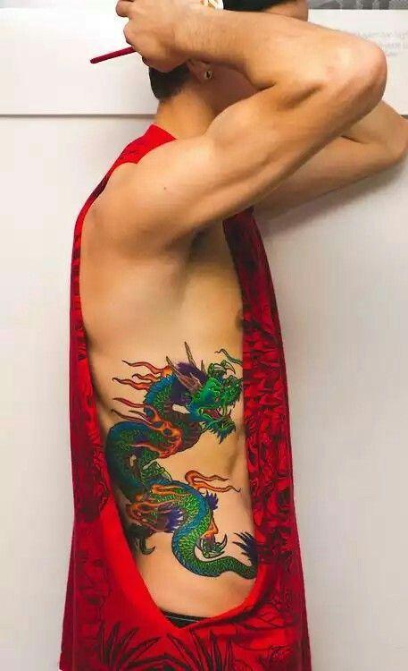Rib Tattoos For Men Rib Tattoos For Guys Rib Tattoo Ribcage Tattoo