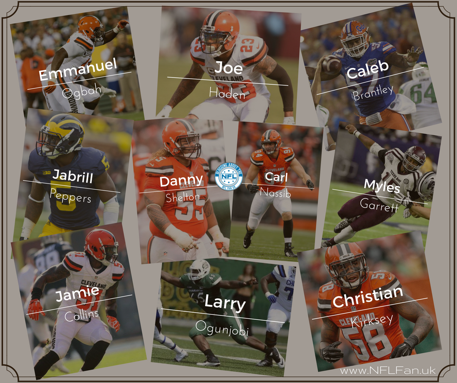 separation shoes 280d9 6cf51 And suddenly the Cleveland Browns had a good defense. Danny ...