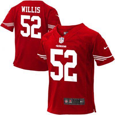 484b0c95 Nike Patrick Willis San Francisco 49ers Infant Game Jersey - Red ...