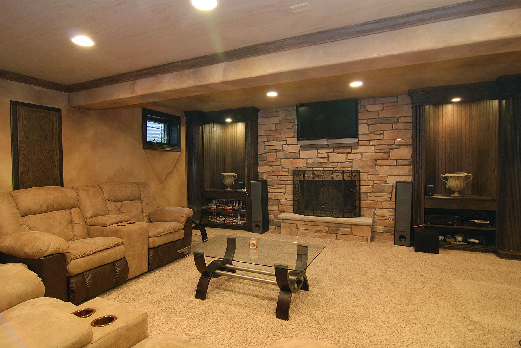 Make Your Finished Basement Amazing! We Have Gathered 25 Inspiring Finished Basement  Designs To Inspire You To Create The Basement Of Your Dreams!