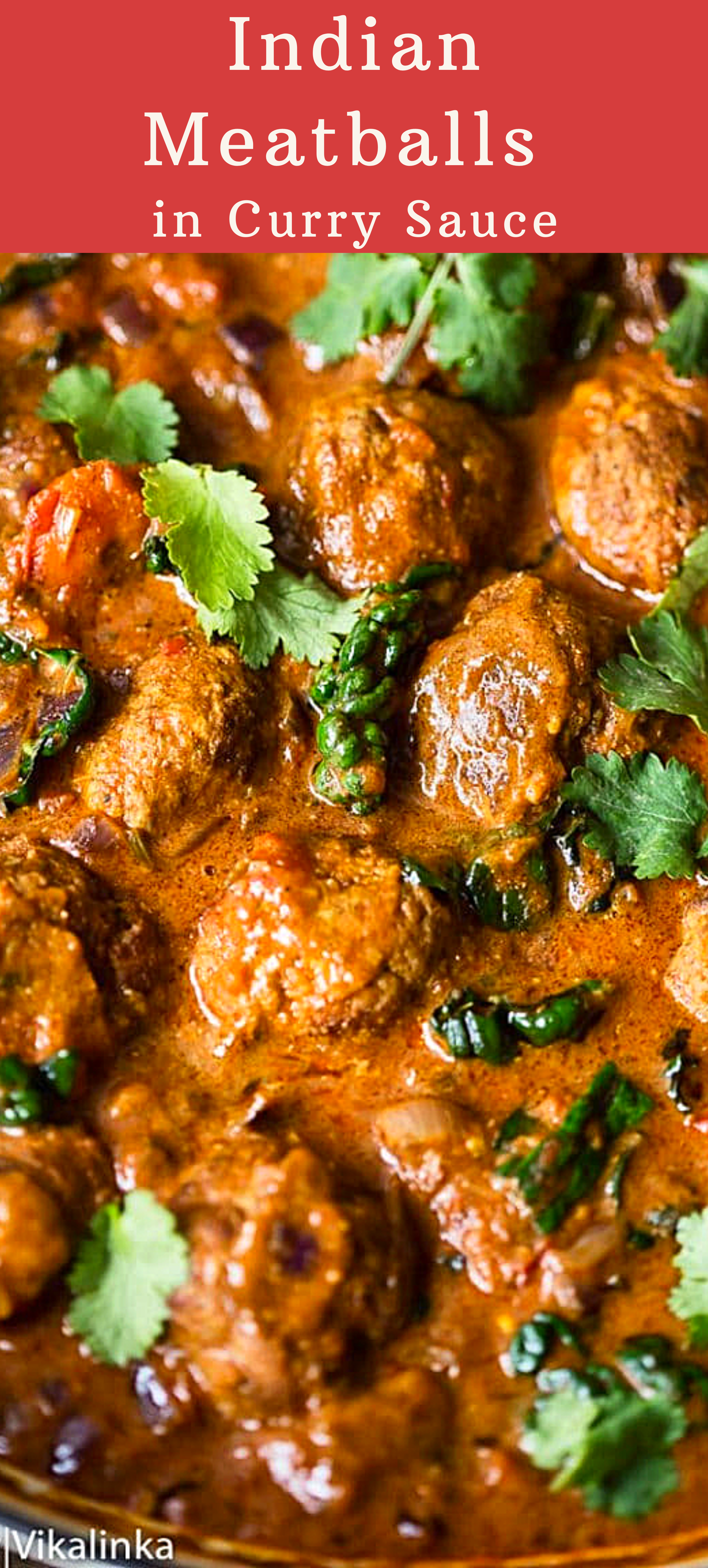 Indian Meatballs In Curry Sauce Curry Recipes Indian Indian Meatballs Indian Food Recipes