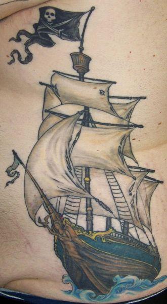 Tatuajes De Barcos Buscar Con Google Tatuajes De Barcos Barcos Barcos Piratas