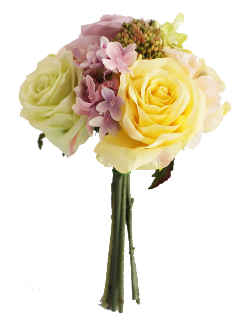 Pastel Rose And Hydrangea Bouquet Spring Wedding Afloral