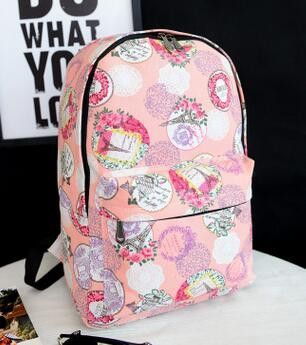 New fashion school backpack for boys and girls casual canvas student bag rucksack women and men backpacks mochila bags