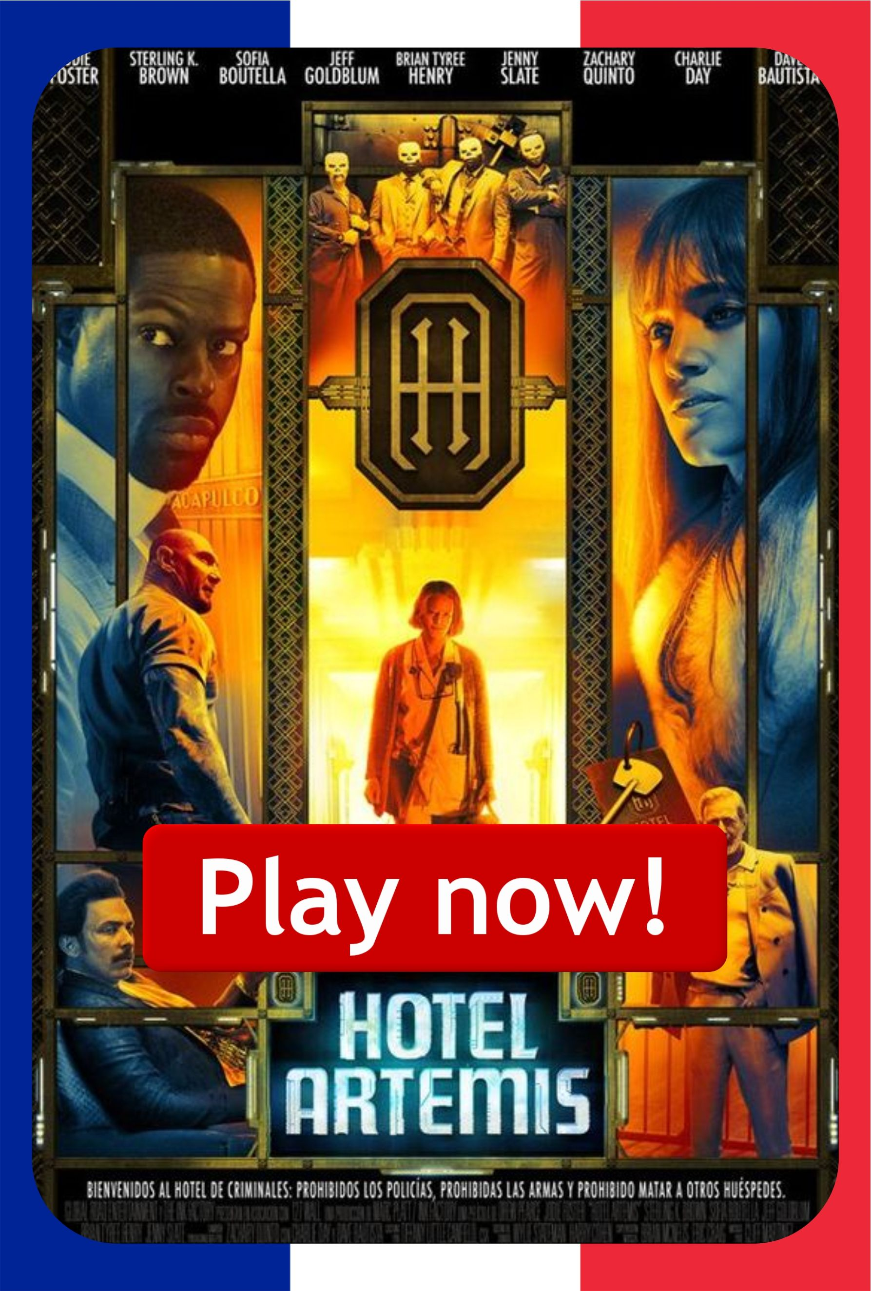 Watch Hotel Artemis (2018) Full Movie Películas
